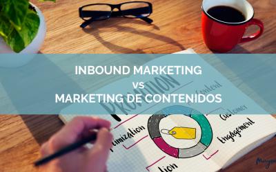 Inbound Marketing vs Marketing de Contenidos… ¿Es lo mismo?