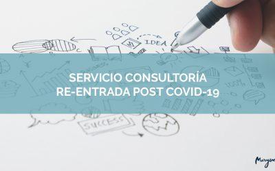 Servicio consultoría re-entrada post-coronavirus